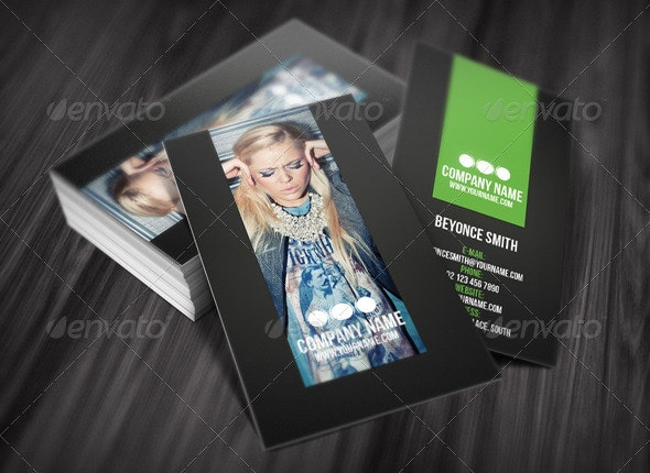 Fresh Business Card - Creative Business Cards