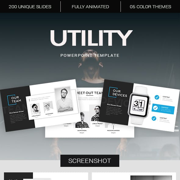 Utility Powerpoint Template