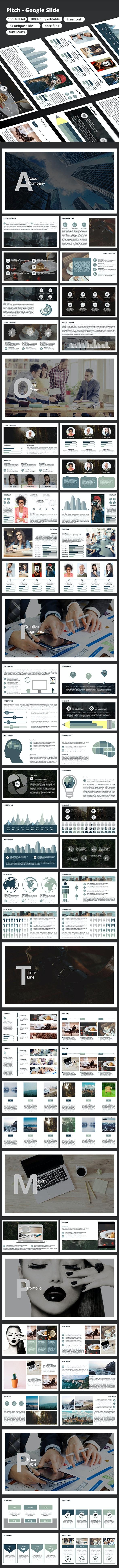 Pitch - Google Slide - Google Slides Presentation Templates