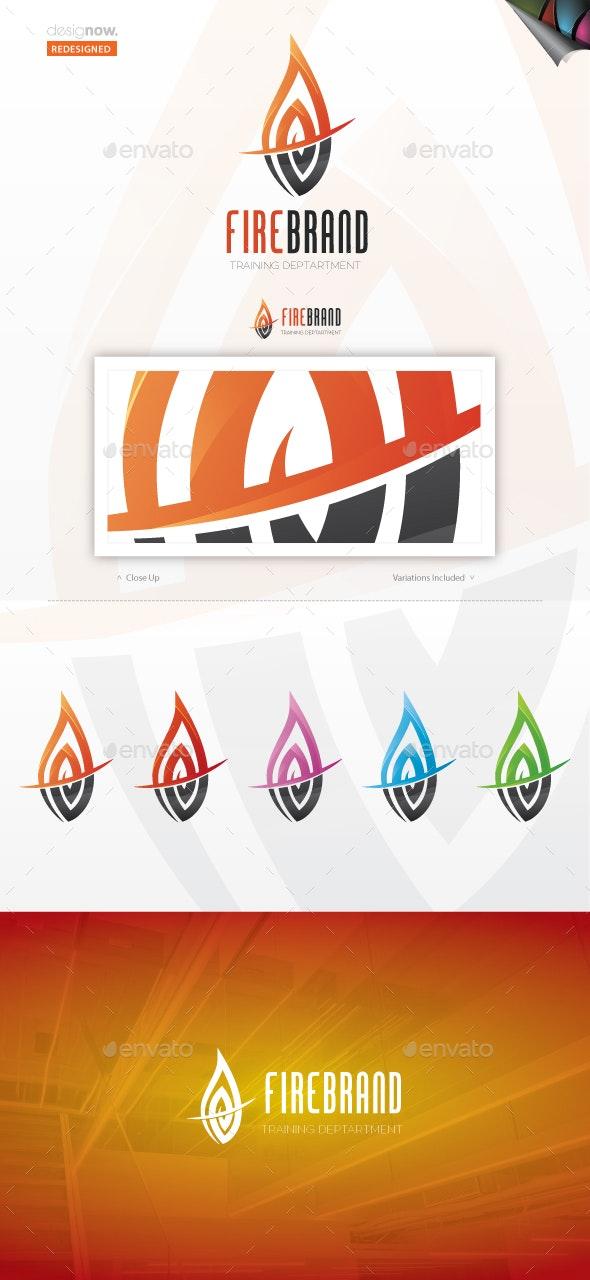 Fire Brand Logo - Vector Abstract