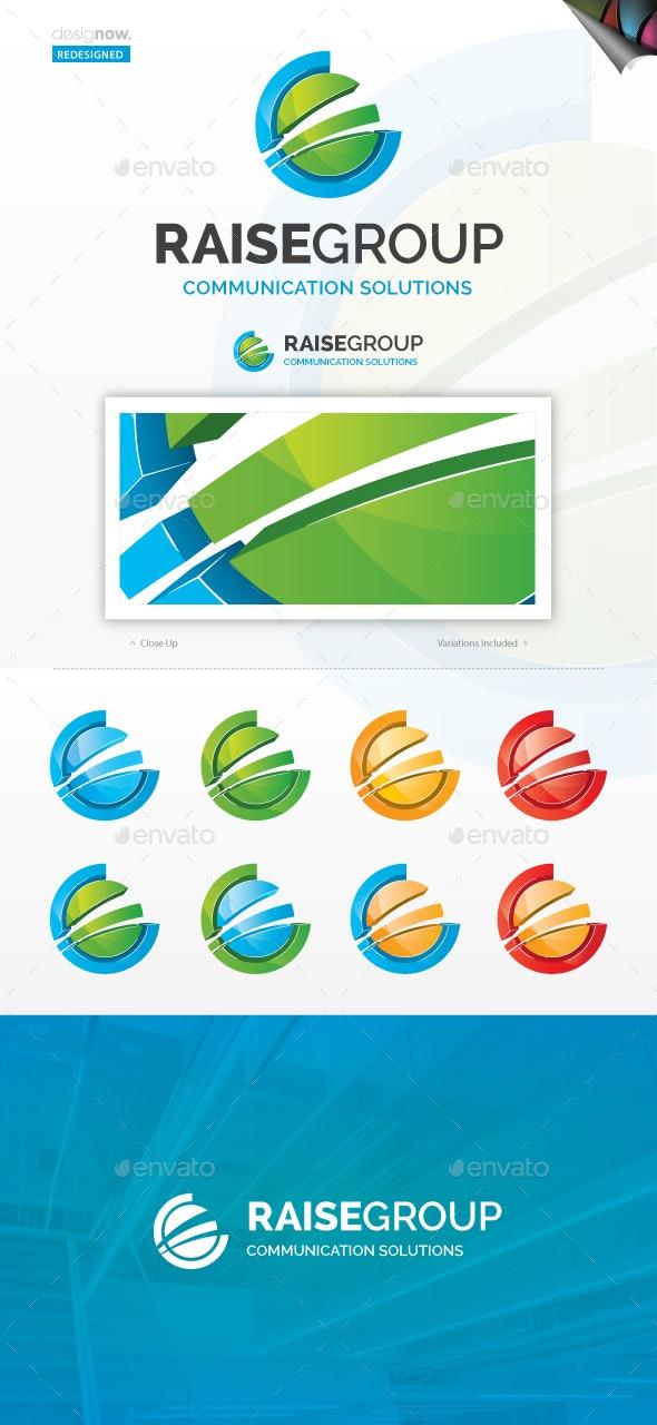 Raise Group Logo - Abstract Logo Templates