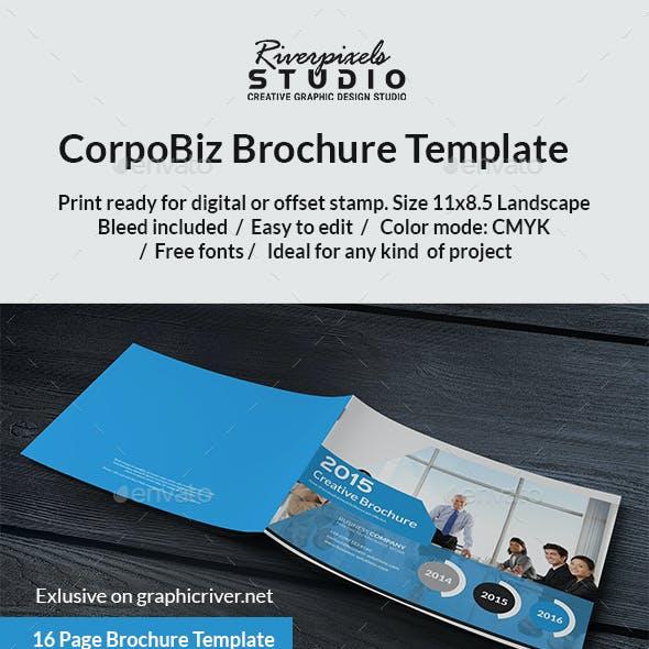 Corpobiz Brochure Template