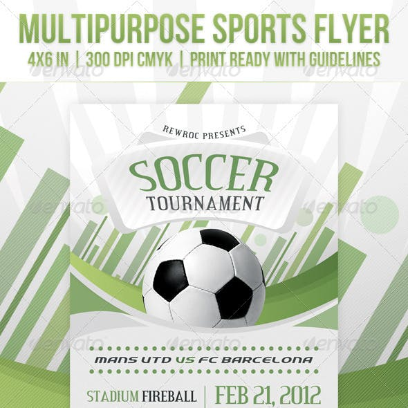 Multipurpose Sports Event Flyer
