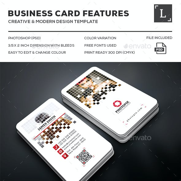 Photography Business Cards Bundle