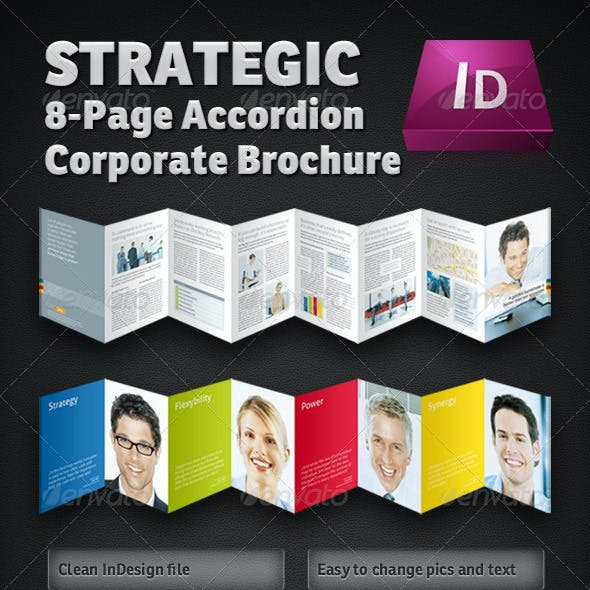 Strategic 8-Page Accordion Fold Brochure