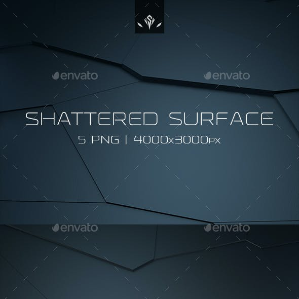 Shattered Surface Backgrounds