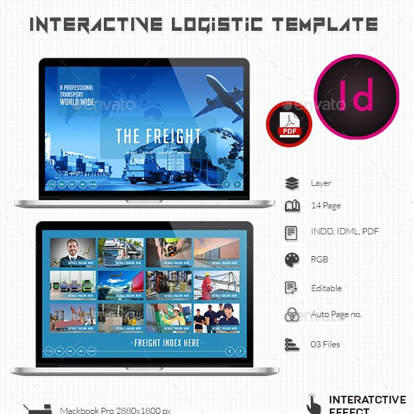 Interactive Logistic Template