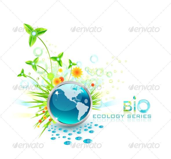 Environmental composition - Nature Conceptual