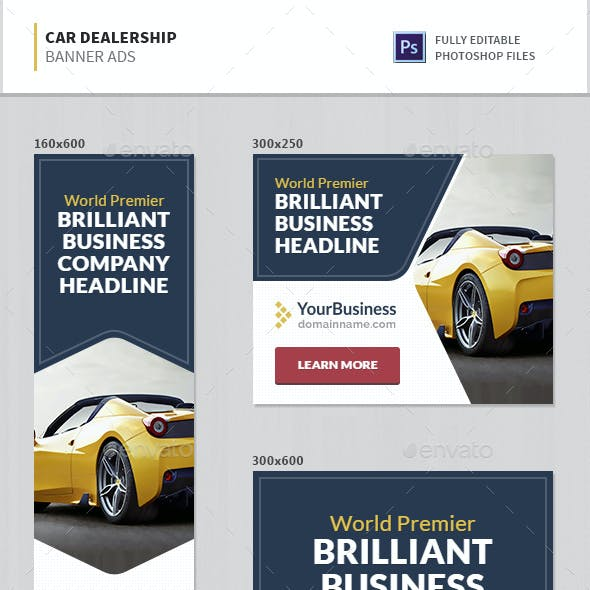 Car Dealership Banner Ads