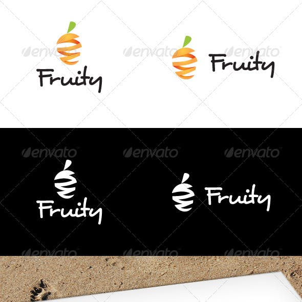 Fruity Logo Template