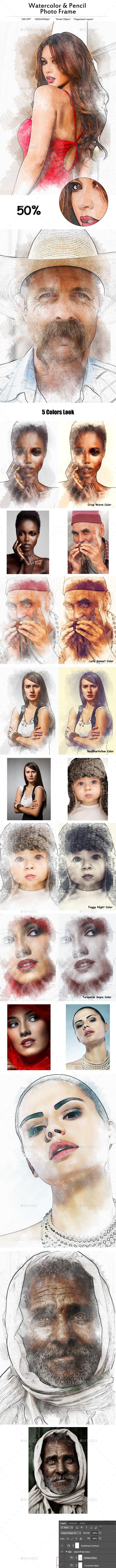 Artistic Photo Template  - Photo Templates Graphics