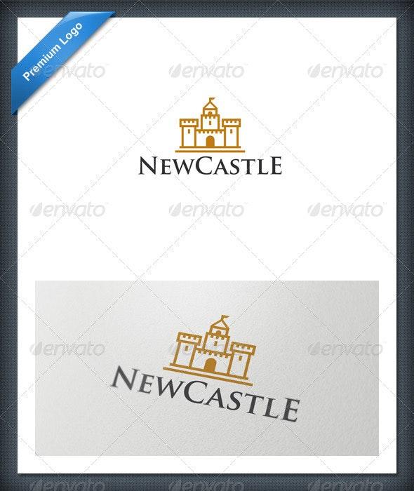 Castle Logo Template - Buildings Logo Templates