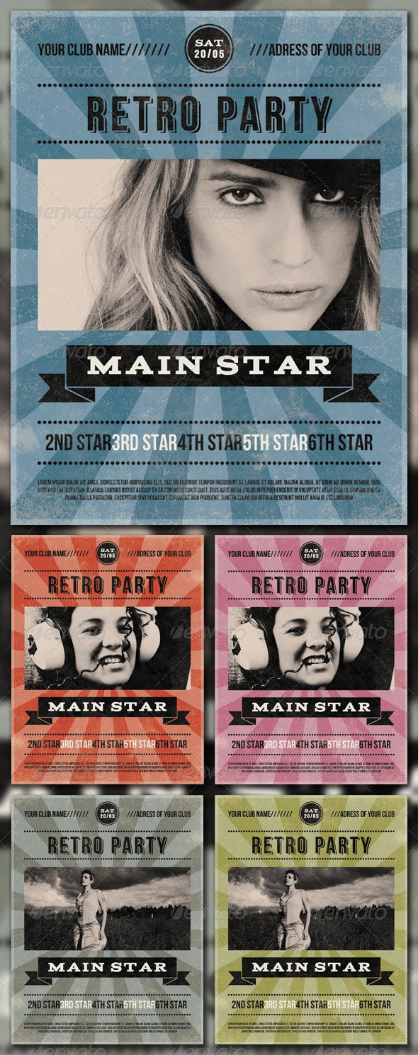RETRO PARTY - Clubs & Parties Events