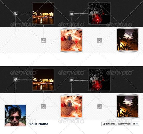 Radial Facebook Timeline Cover - Facebook Timeline Covers Social Media