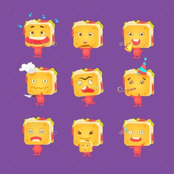 Sandwich Character Set