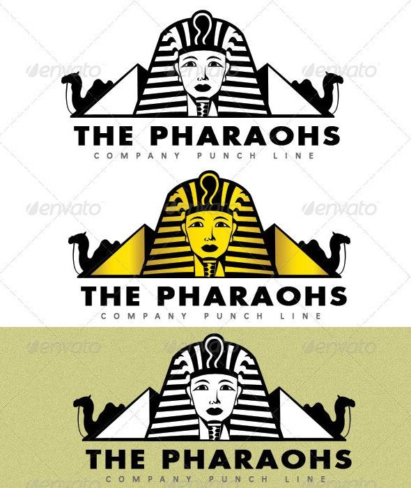 The Pharaohs Logo - Humans Logo Templates