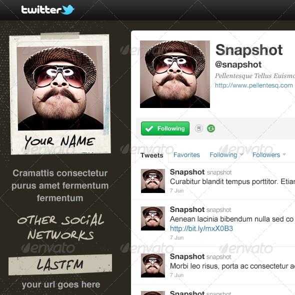 Snapshot - Twitter Background