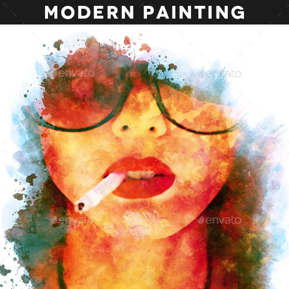 Modern Painting Template