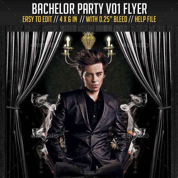 Bachelor Party V01 Flyer