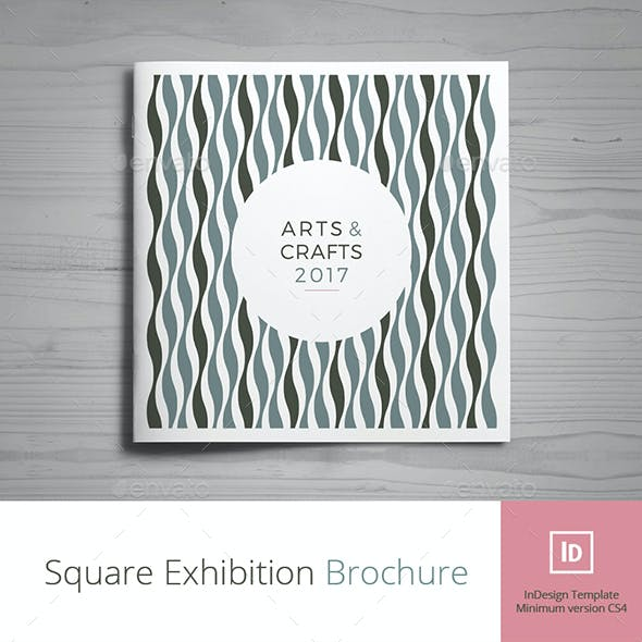 Square Exhibition Brochure
