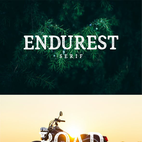 Endurest Typeface