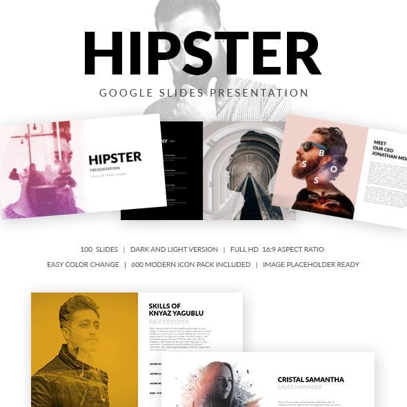 Hipster Google Slides Presentation Template