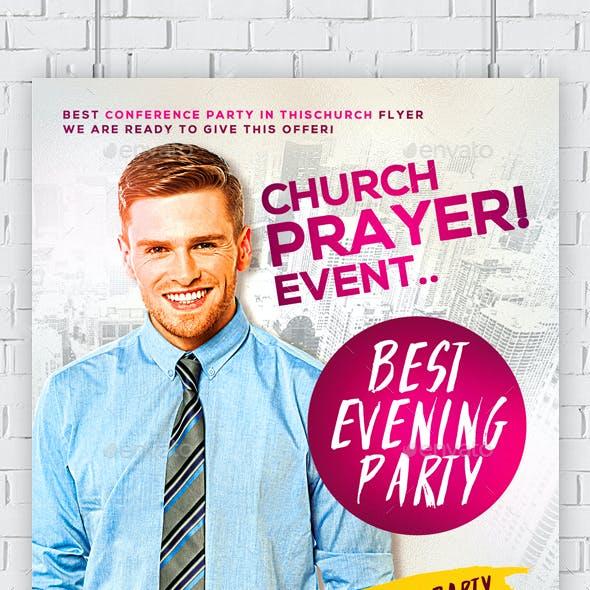 Pastor Appreciation Church Flyer