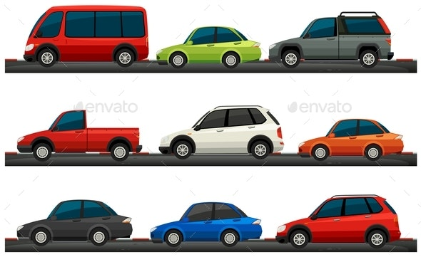 Different Type of Cars
