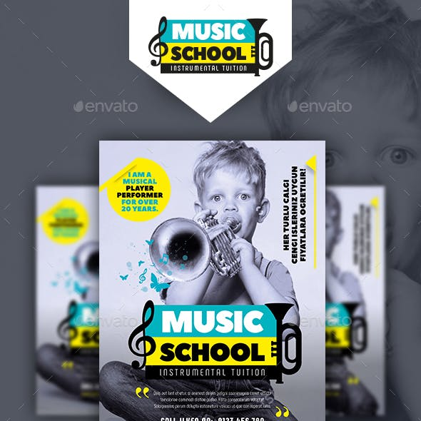 Musical Instruments Flyer Templates