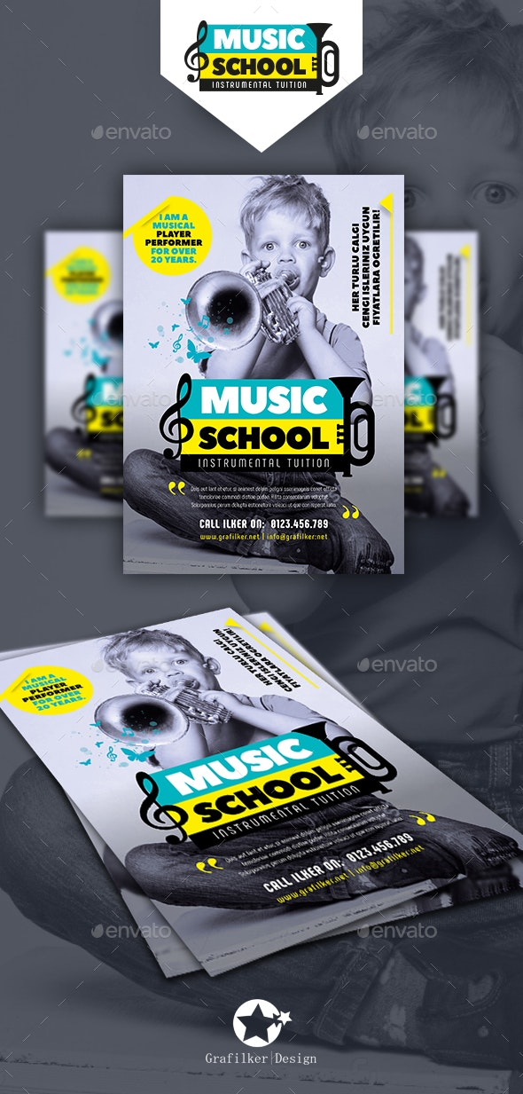Musical Instruments Flyer Templates - Events Flyers