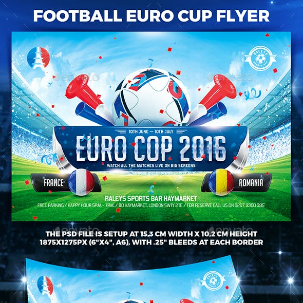 Football Euro Cup Flyer vol.1