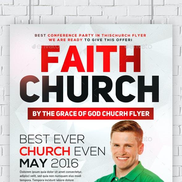 Faith and Prayer Church Flyer