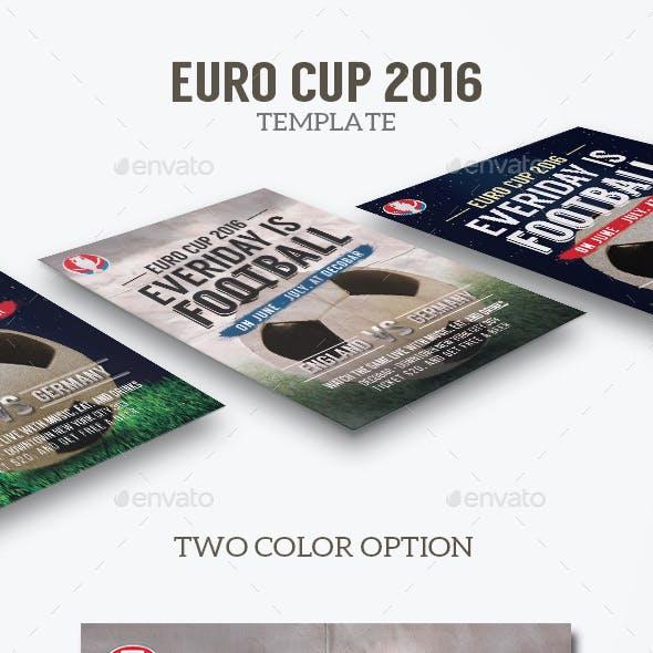 Euro Football Flyer