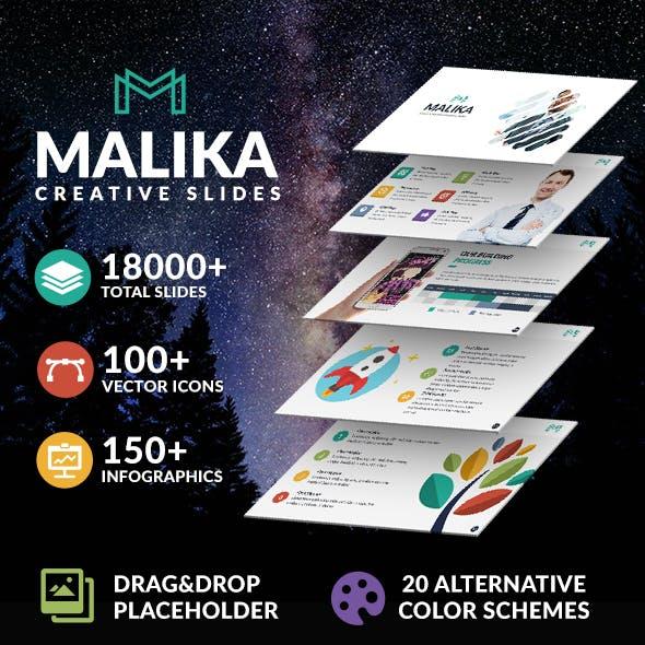 Malika Creative Powerpoint
