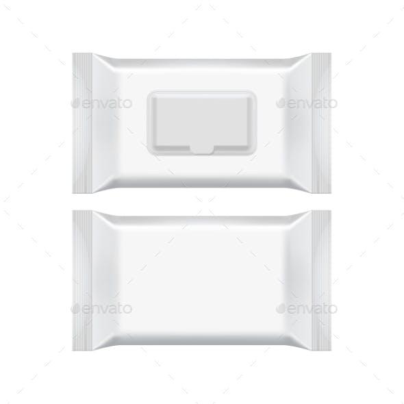 Blank Packaging Template Mockup