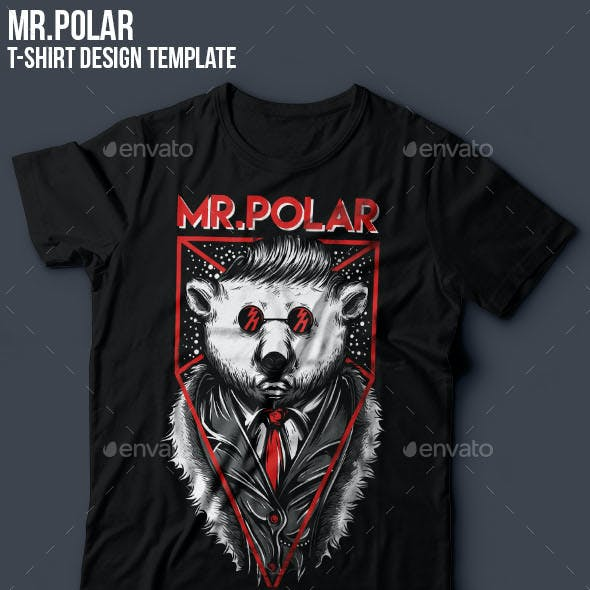 Mr.Polar T-Shirt Design