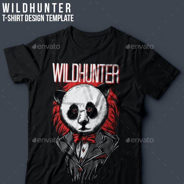 Wildhunter T-Shirt Design