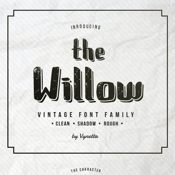 The Willow Typeface