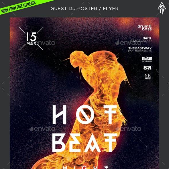 Hot Beats Poster / Flyer