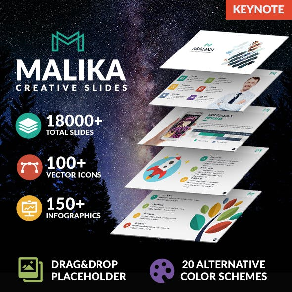 Malika Multipurpose Keynote