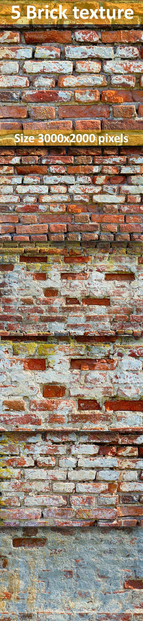 Brick texture 4 - Stone Textures
