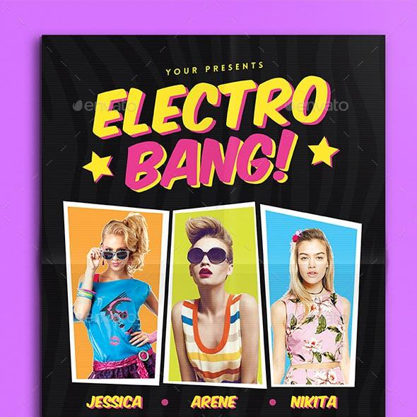 Electro Bang Flyer