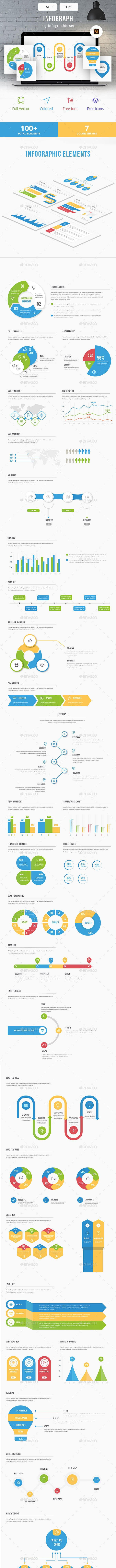 Infograph  - Infographic Elements Kit - Infographics
