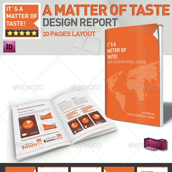 Professional Brochure // Magazine Template //A4