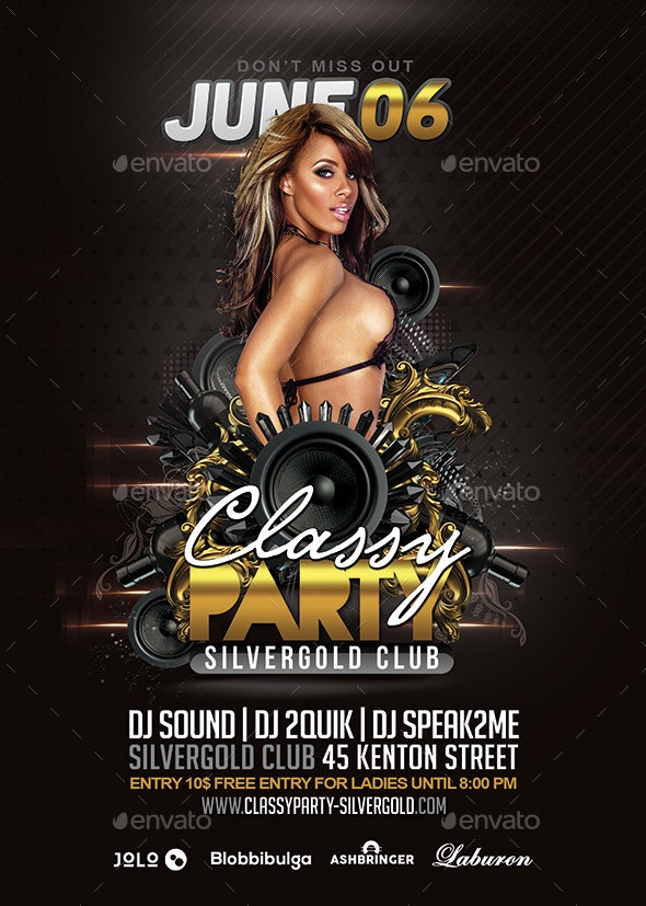 Classy Club Party  - Clubs & Parties Events