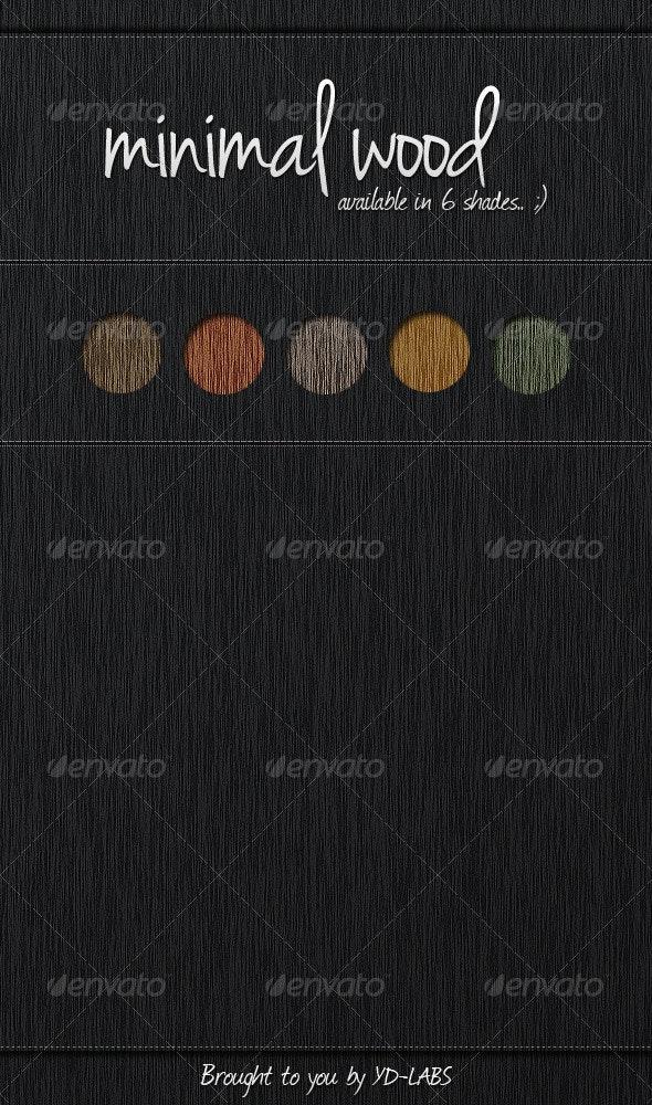 Minimal Wood - Patterns Backgrounds