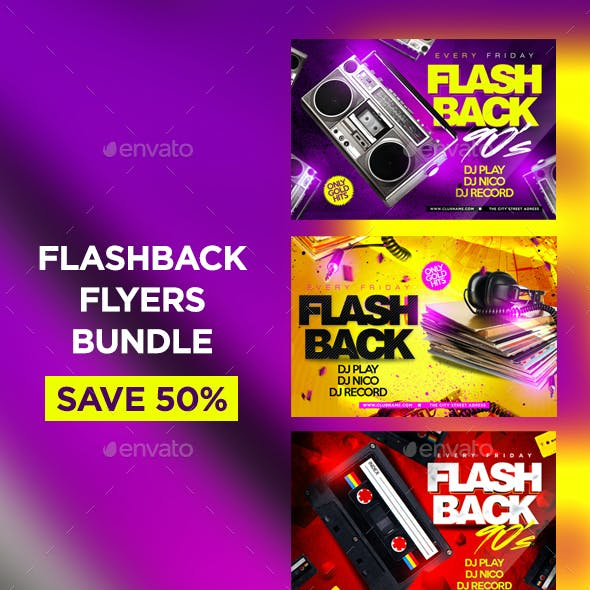 Flashback Flyers Bundle