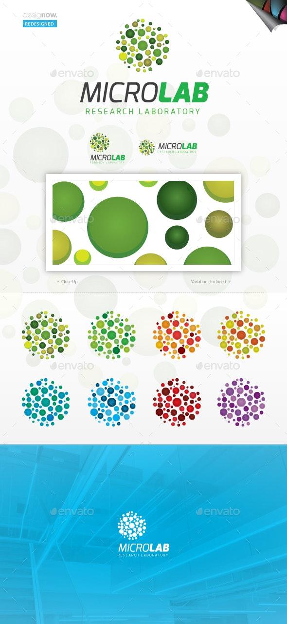 Micro Lab Logo - Abstract Logo Templates