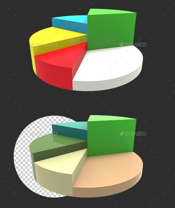 3D Graph - Miscellaneous 3D Renders