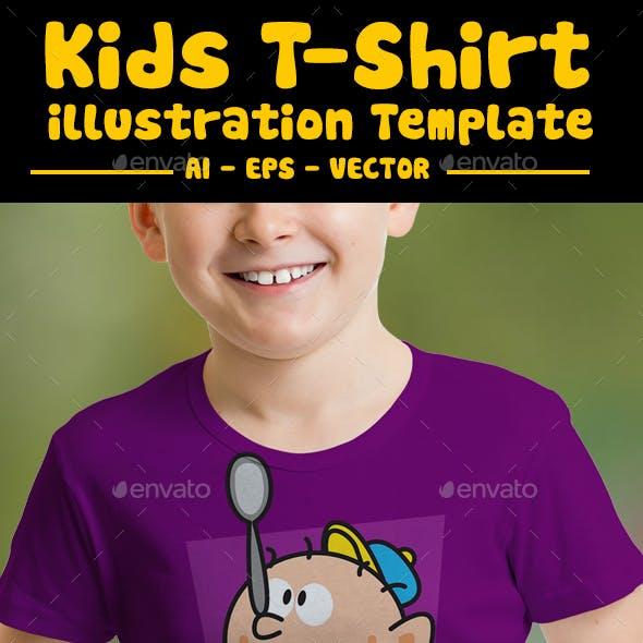 Balance Kids T-shirt Design